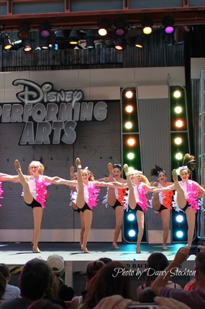 disney kickline short